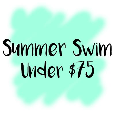 Summer swim under 75