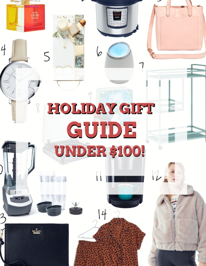 Holiday Gift Guide: Gifts Under$100